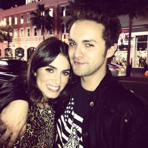 """Spent the last two hours with the spectacular Thomas Dekker promoting our little movie EDM. You really brightened my day Dek. Can't wait to work with you again, after we show the world what we've already done."" - Nikki"